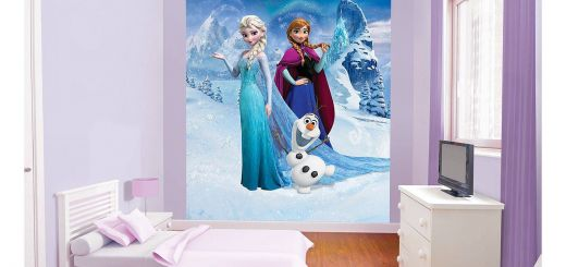 Custom 3d Elsa Frozen Cartoon Wallpaper for Walls Kids Room Mural Inspirational Disney Frozen Wallpaper Mural asda