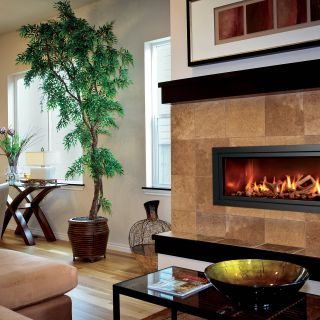 "Custom Gas Fireplace Designs Elegant Just because ""modern"" is In the Name Doesn T Mean the"