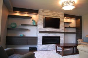 Custom Gas Fireplace Designs Unique Custom Modern Wall Unit Made Pletely From A Printed