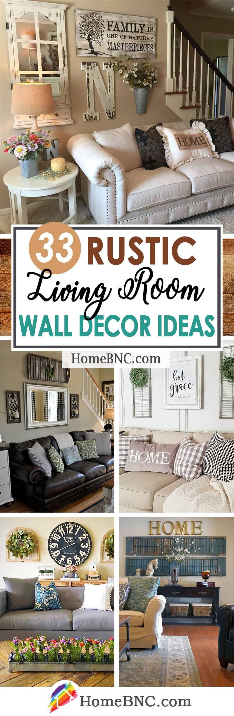 rustic living room wall decor ideas pinterest share homebnc