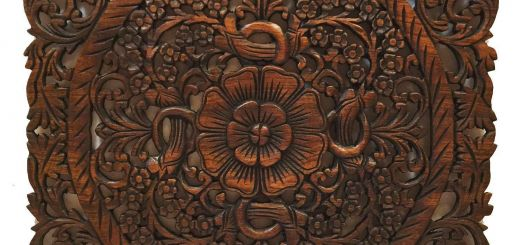 Dark Brown Wall Decor Luxury asian Wood Wall Plaques Wall Sculptures Wood Wall