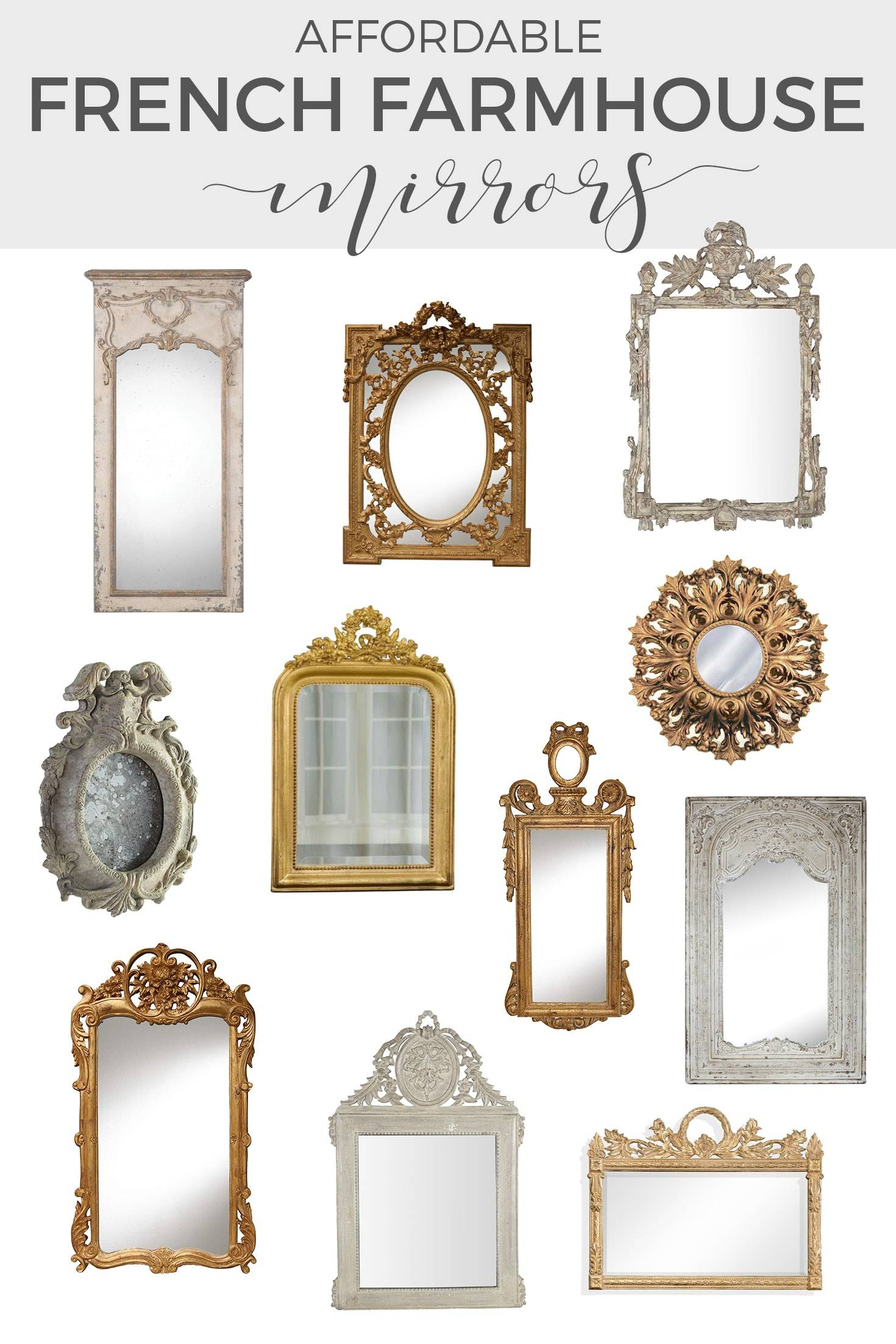mirrors shopping guide