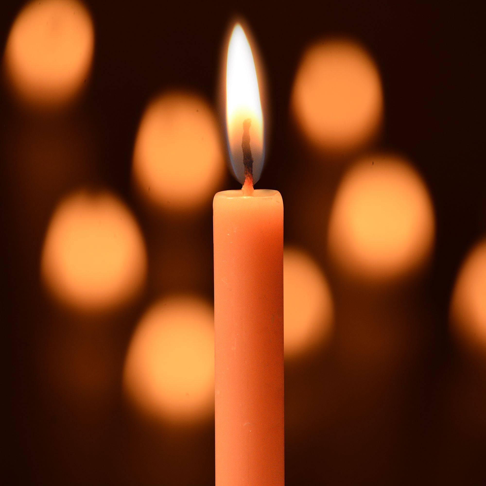 Rajrang Orange Pillar Candle Pack SDL 2 65dd2