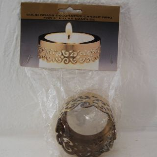 Decorative Candles for Sale Inspirational Brass Candle Ring Vintage solid Brass Decorative Ring for
