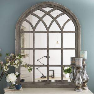 Decorative Full Length Mirror Beautiful Distressed Cream Sa Arch Mirror In 2019
