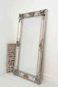 Decorative Full Length Mirror Luxury Details About Beautiful Silver Decorative ornate Wall Mirror 6ft X 3ft 183 X 91cm