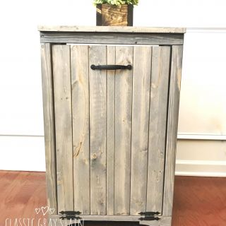 Decorative Kitchen Trash Cans Luxury Wooden Trash Bin In 2019 A Dash Of Daisy