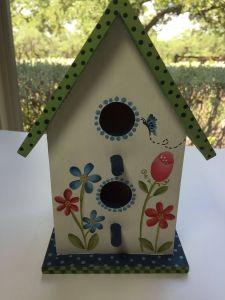 Decorative Outdoor Bird Houses Best Of tole Decorative Painted Birdhouse by Lynn Egigian