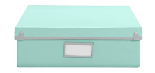 Decorative Photo Storage Boxes Unique Design Ideas Frisco Paper Box Mint