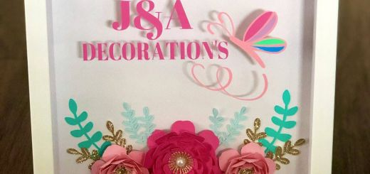 Decorative Shadow Box Frame Beautiful A Shadow Box Decorated Inside with Paper Flowers Leaves and
