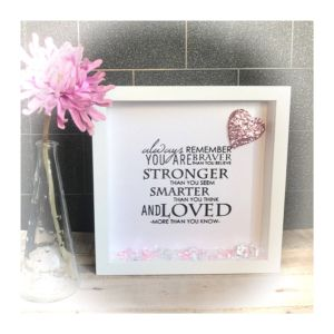 Decorative Shadow Box Frame Elegant Picture Frame Box Frame Quote Wall Decoration Remeber You
