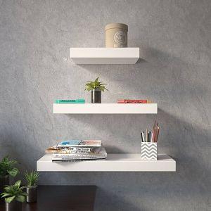 "Decorative Wooden Wall Shelves Beautiful D Dass 48"" Wooden Decorative Wooden Wall Shelf Set top Box"