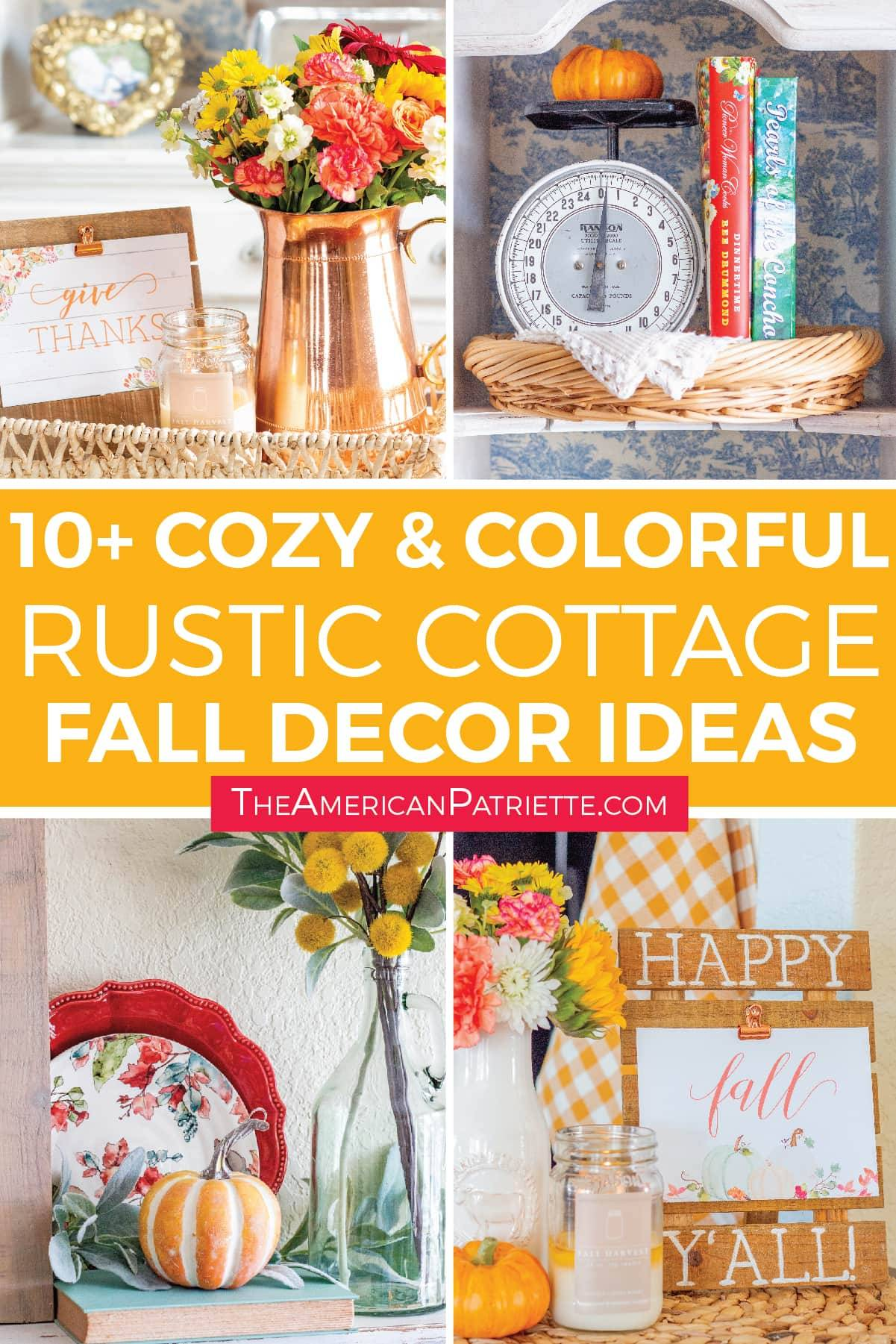 Cozy and Colorful Country Cottage Fall Decor Ideas Artboard 5 copy