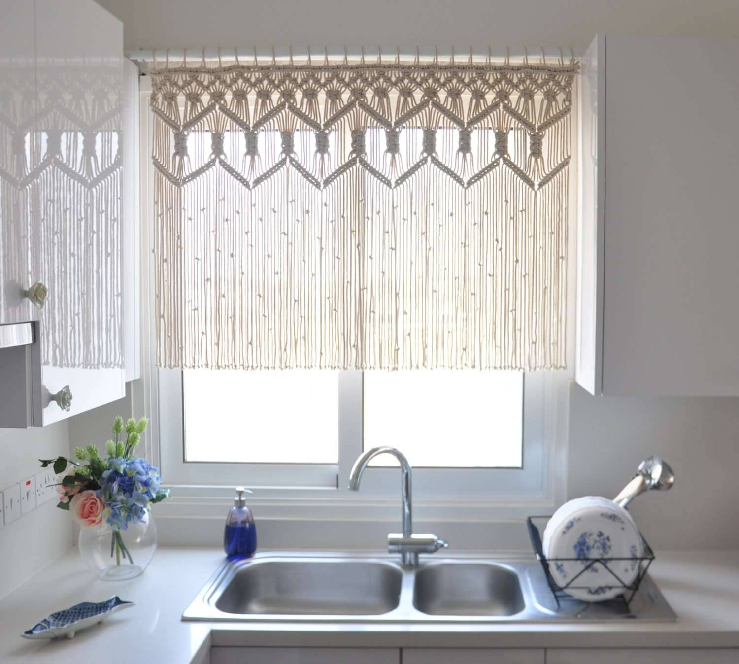 kitchen curtains modern and contemporary designs best images window farmhouse valances sets ideas treatments decorating curtain concept