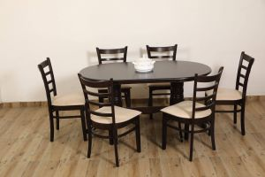 Dining Table Ideas Best Of Eros solid Wood 6 Seater Dining Set Buy Eros solid Wood 6 Seater Dining Set Line at Best Prices In India On Snapdeal