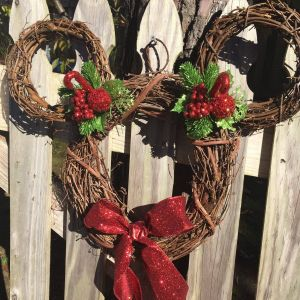 Disney Outdoor Christmas Decorations Fresh New Mickey Mouse Holiday Wreath Collection now Available