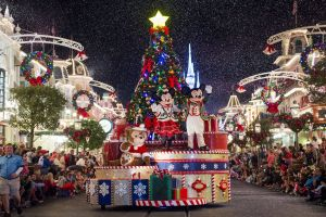 Disney Outdoor Christmas Decorations Unique December at Disney World Weather and event Guide