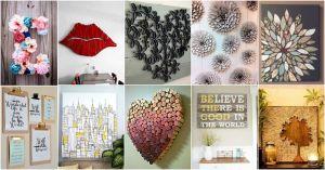 Diy Art Ideas Awesome More Amazing Diy Wall Art Ideas Home Decor Diy