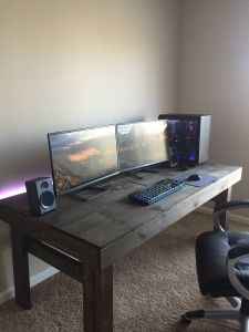 Diy Desk Ideas Fresh Pin by Raldo On Setups In 2019