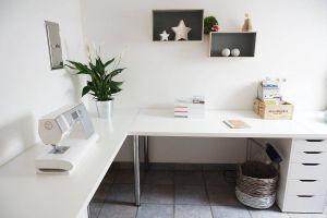 Diy Desk Ideas New Minimalist Corner Desk Setup Ikea Linnmon Desk top with