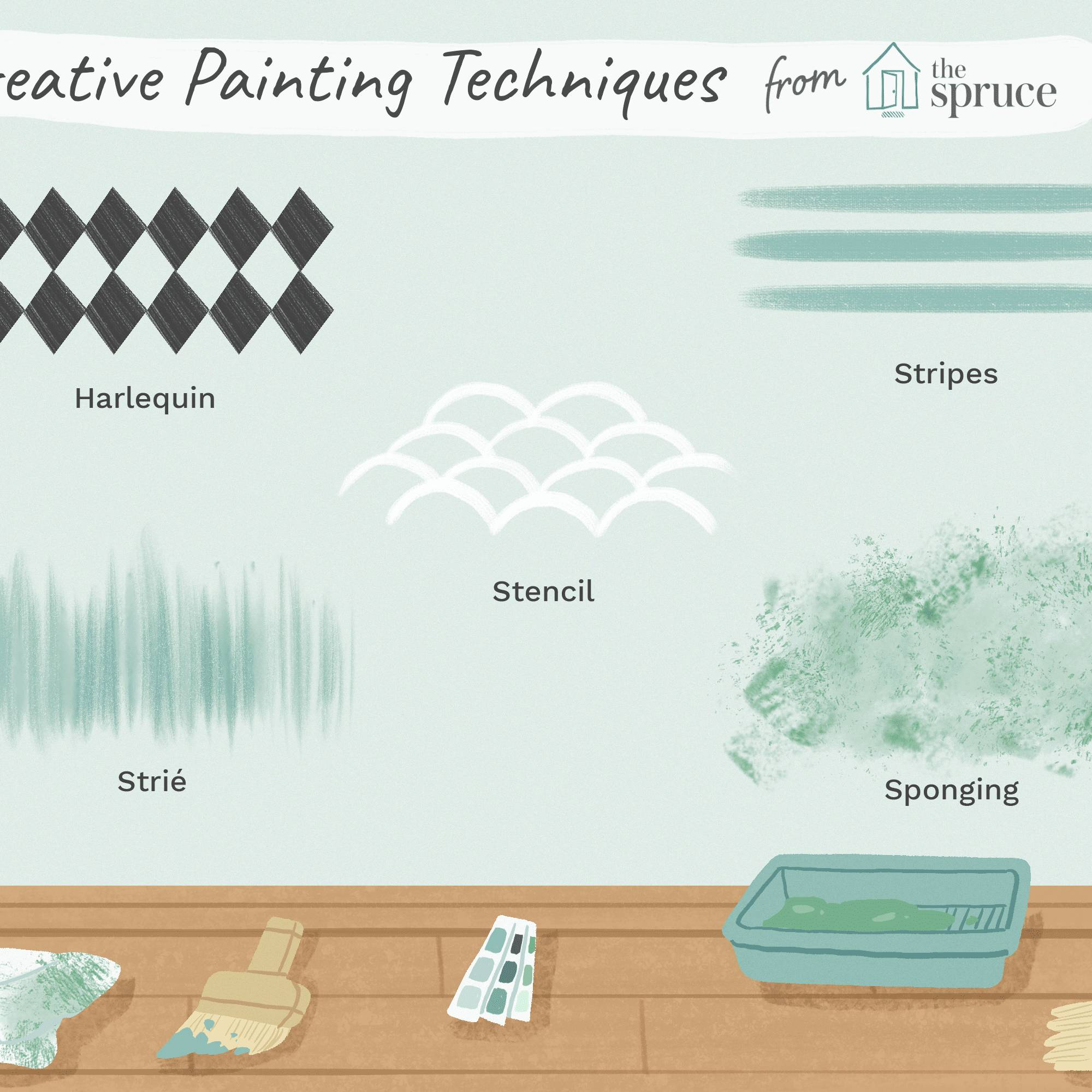 decorative paint techniques for bedroom walls Final a143cc3e6d164ffda2537cb4642b1880