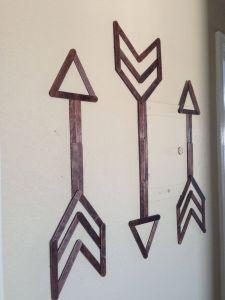Diy Living Wall Inspirational Popsicle Stick Wall Art