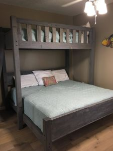 Diy Loft Bed with Desk Awesome Custom Bunk Bed In Twin Over King or Twin Over Queen at