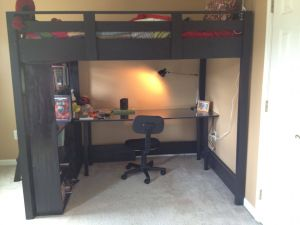 Diy Loft Bed with Desk Lovely Carnie Cardayl On Pinterest