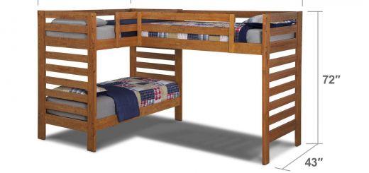 Diy Loft Bed with Desk Luxury Drew Iii Kids Furniture Twin L Shaped Loft Bed