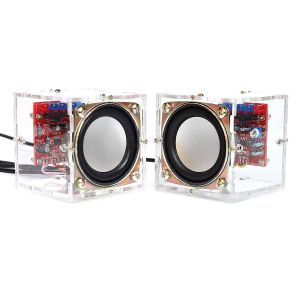 Diy Pendant Light Kit Luxury Gikfun Upgraded Usb Mini Amplifier Electronic Transparent Stereo Speaker Box sound Amplifier Diy Kit for Arduino Ek1918