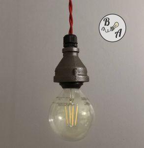 Diy Pendant Light Kit New Industrial Pendant Lamp with Led Edison Bulb Vintage Cotton