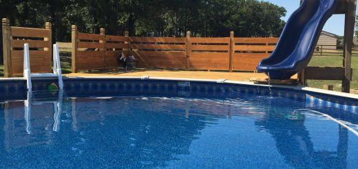 Diy Pool Plans Best Of Beachy Pool Deck with Slide In 2019