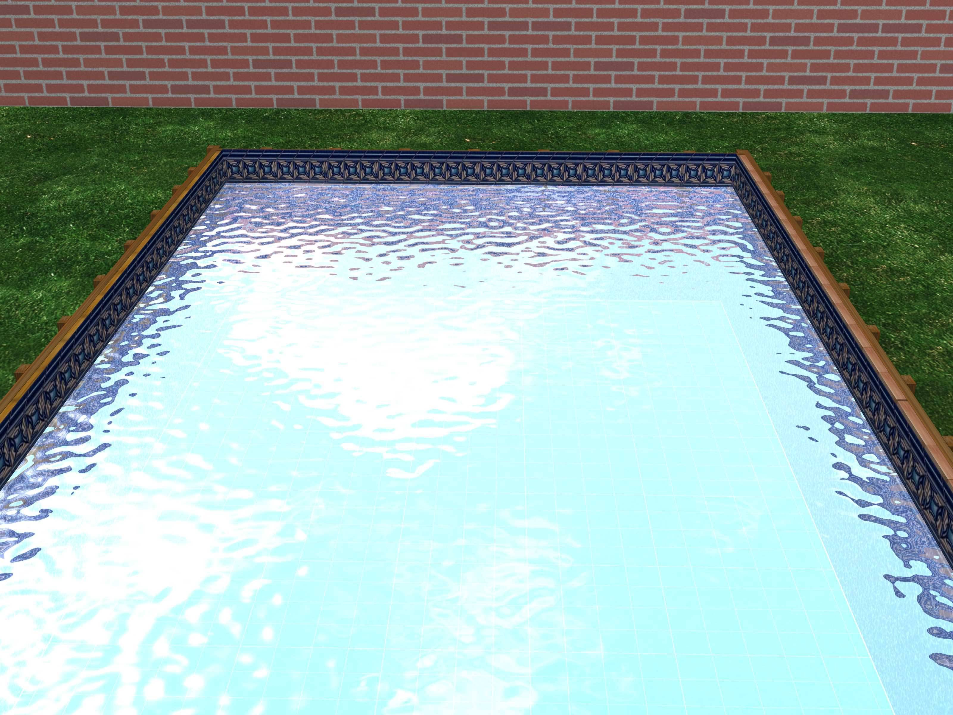 Build a Swimming Pool from Wood and Plastic Step 10