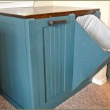 Diy Trash Bin Elegant Primitive Trash Can Holder