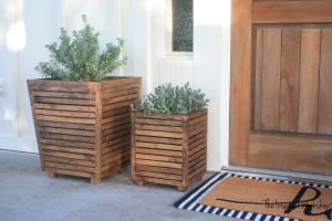Do It Yourself Patio New Diy Scrap Wood Outdoor Planter – the Inspired Workshop