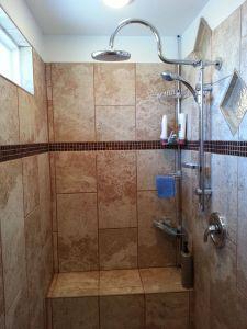 """Doorless Bathroom New 7 X 3 6"""" Walk In Shower Walk In Showers"""