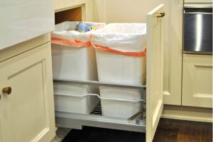 Double Garbage Can Pull Out Inspirational Kitchen Cabinet Design Essentials