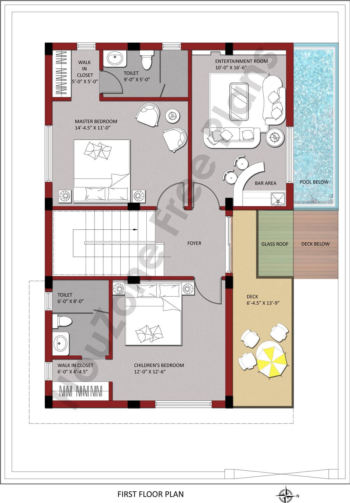 01 200 East First Floor copy