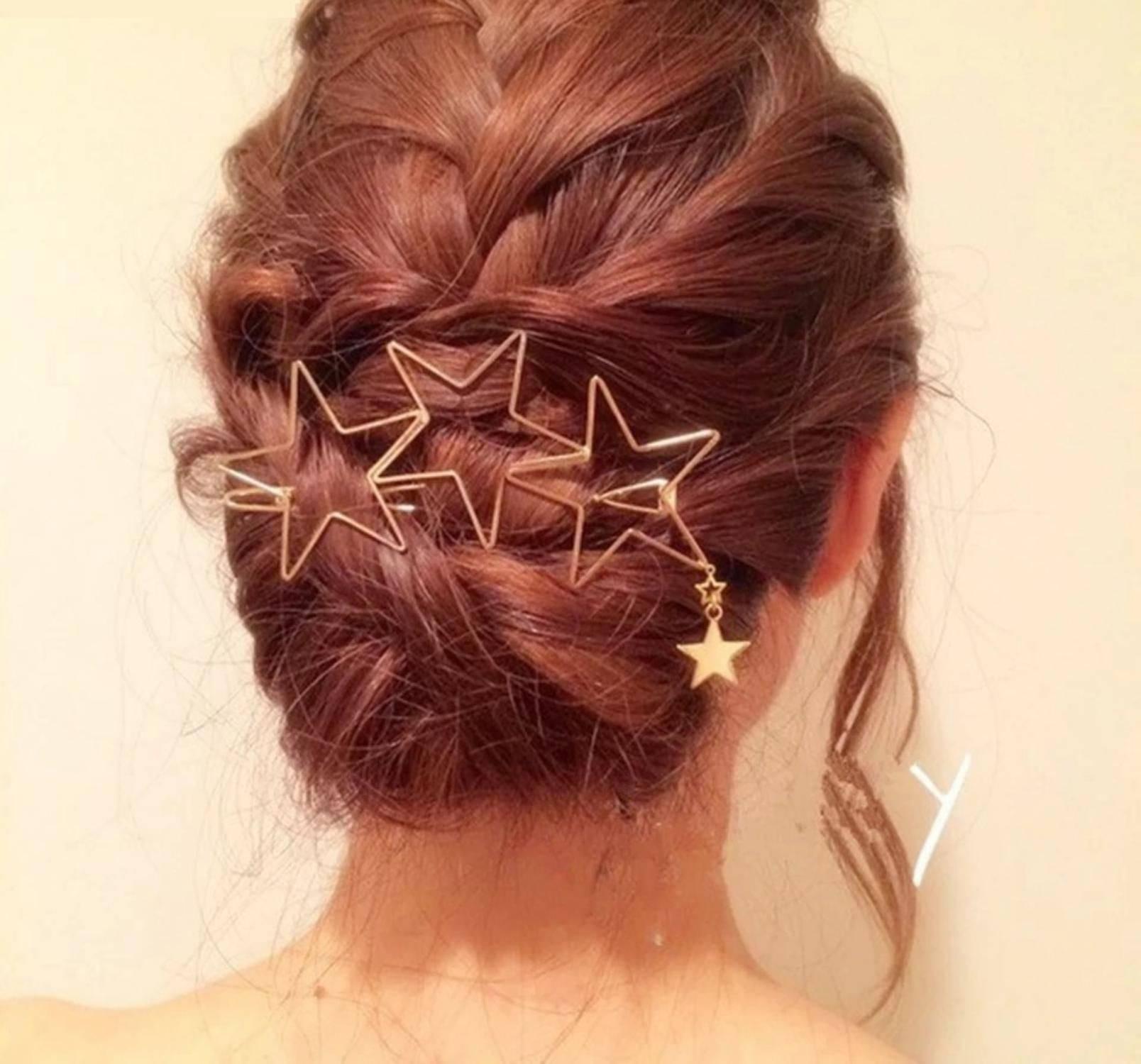 Stylish Teens Gold Party Hair SDL 2 4c7d5