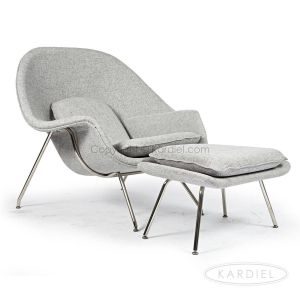Eero Saarinen Womb Awesome Womb Chair & Ottoman Dacite Furniture