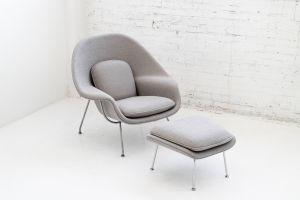 Eero Saarinen Womb Beautiful Eero Saarinen Womb Chair and Ottoman at 1stdibs