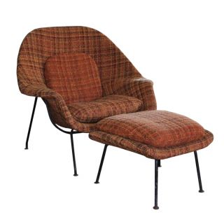 Eero Saarinen Womb Inspirational Eero Saarinen Mid Century Modern Womb Chair and Ottoman