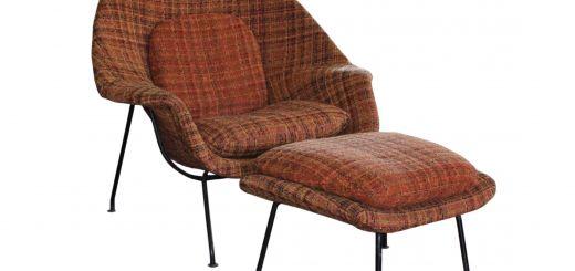 Eero Saarinen Womb Inspirational Eero Saarinen Mid Century Modern Womb Chair and Ottoman