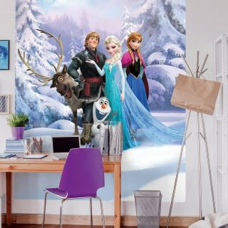 Elsa Frozen 2 Bedroom Decorating Ideas Unique Wall Mural Wallpaper Disney Frozen 254x184cm Photo Decor for Children S Bedroom