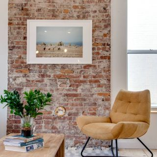 Exposed Brick Apartment Decor New Mon Lincoln Living Room