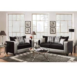 Flash Sale Home Decor Awesome Flash Furniture Riverstone Implosion Black Velvet Living Room Set