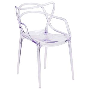 Flash Sale Home Decor Best Of Flash Furniture Fh 173 Apc Gg Nesting Series Transparent Stacking Side Chair 1 Pack