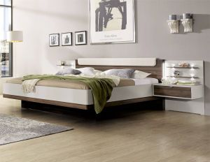 Floating Beds Awesome Stylform Hypnos Modern Bed In Champagne & Noce In 2019