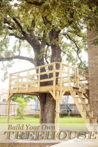 Free Treehouse Plans Awesome Build Your Own Treehouse