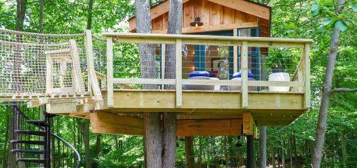 Free Treehouse Plans New Grace Vanderwaal S Treehouse Pete Nelson